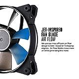 Cooler Master MasterFan Pro 120 AF Gehäuselüfter 'Bis zu 1900 RPM, Silent, Quiet und Performance Modi, 120mm' MFY-F2NN-11NMK-R1