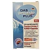 DAS gesunde PLUS Premium Omega-3 Krillöl Kapseln (60 Kapseln)