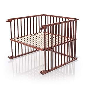 babybay Kinderbett-Umbausatz für Maxi, dunkelbraun lackiert