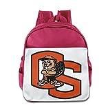 Oregon State Biber Maskottchen Kleinkinder Kinder Schulter Schule Tasche royalblau, rose (rosa) - KOLA-8217129-ERTshubao-Pink-29