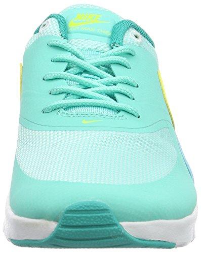 Nike Damen Air Max Thea (Gs) Laufschuhe Türkis (Hyper Turq/Volt-Clear Jade-White)