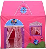 #7: DD Plastics Pink Jumbo Size Queen Palace Tent House for Kids