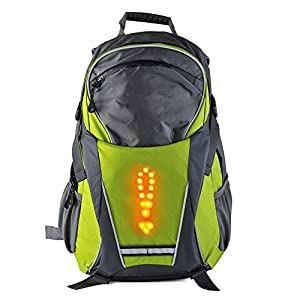 51%2BraWbh3ihuniu,inc. LED Turn Signal Light Reflective Vest Backpack/Business/Travel/Laptop/School Bag Sport Outdoor Waterproof for Night Cycling SafetyiL