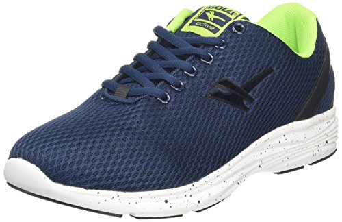 Gola Equinox Multisport, Sneakers da Uomo, Colore Blu (Navy/Black/Lime), Taglia 11 UK 45 EU