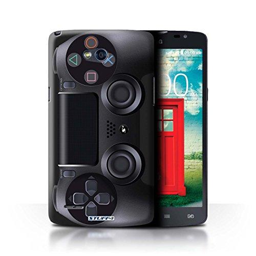 Stuff4 Hülle / Hülle für LG L80/D380 / Playstation PS4 Muster / Spielkonsolen Kollektion (Handy-l80)