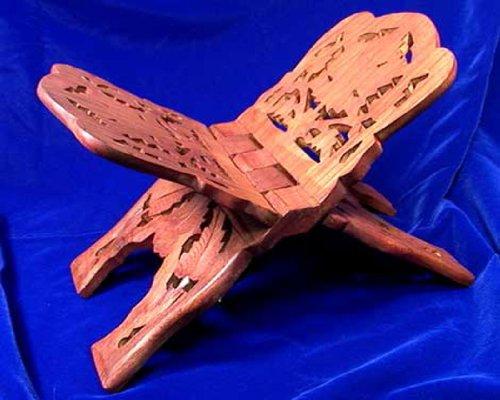 tawla/rihal Holz (Koran Lesen Ständer). Größe 16,5x 33,7cm