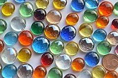 Idea Regalo -  Piccole sfere in vetro, 150 g, 10 - 15 mm, colorate circa 70 - 80 pezzi Pietre decorative a mosaico in vetro.