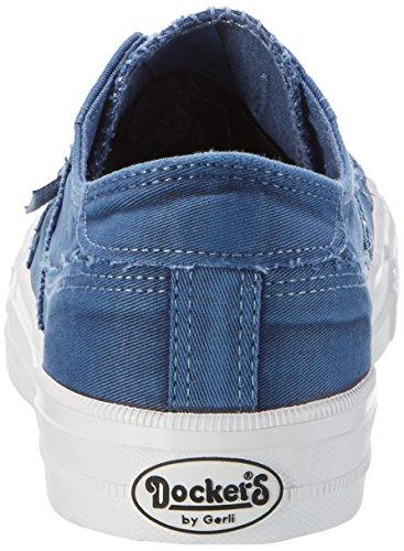 Dockers by Gerli 40dn001-790600, Baskets Basses Homme Bleu (Blau)