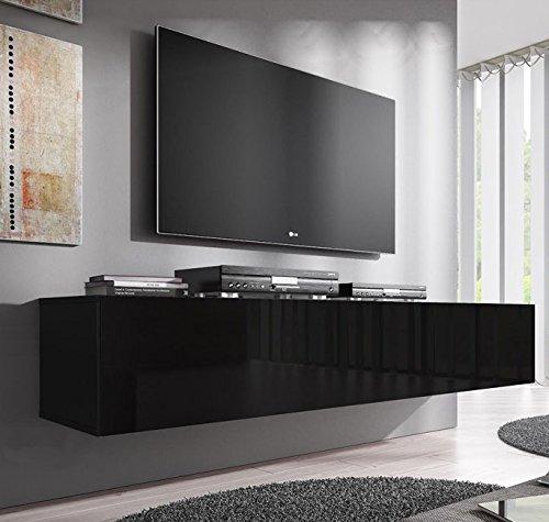Lettiemobili –Mobile TV modello Forli XL (160 cm) nero