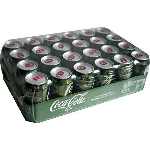 Coca Cola 'Life' 24 Dosen á 0,33l Dose (Coca Cola Stevia, Coke Import)