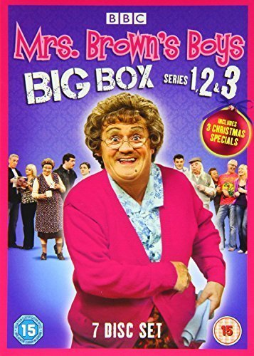 Mrs Brown's Boys Series 1,2 and 3 BBC of the Smash Hit BBC Series Region 2 Encoding (This DVD Will Not Play on Most DVD Players Sold in the Us or Canada [Region 1]. This Item Requires a Region Specific or Multi-region DVD Player and Compatible Tv. More About DVD Formats.) (Smash Dvd Tv-serie)