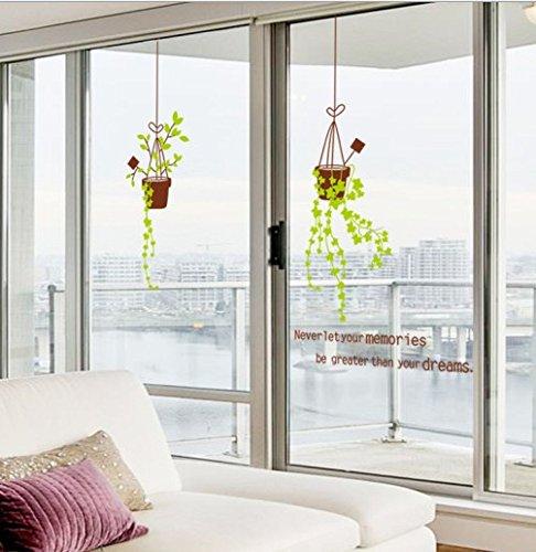 NRSP Das Wohnzimmer Balkon Fenster Glas Schiebetür Aufkleber Dekorpapier Fzsn 564754