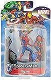 Marvel Spielfigur Spiderman 8,5 cm im Blister Spider-Mann Figur mit Stand