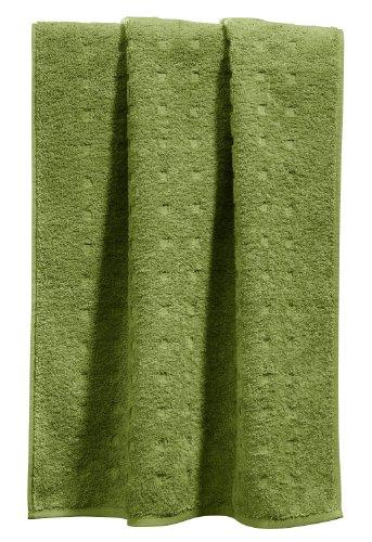 Möve Handtuch Quadretti grün Größe 50x100 cm