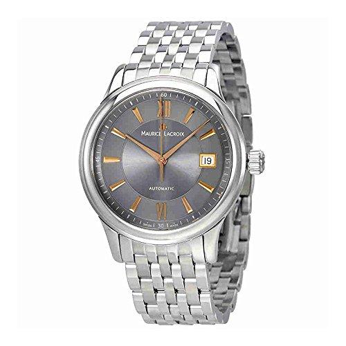 Maurice Lacroix Les Classiques Automatik-Herren-Armbanduhr Edelstahl LC6027-SS002-310