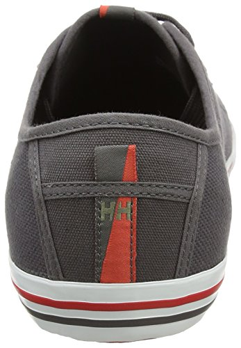 Helly Hansen Fjord Canvas, Baskets Homme Gris (Dark Grey)