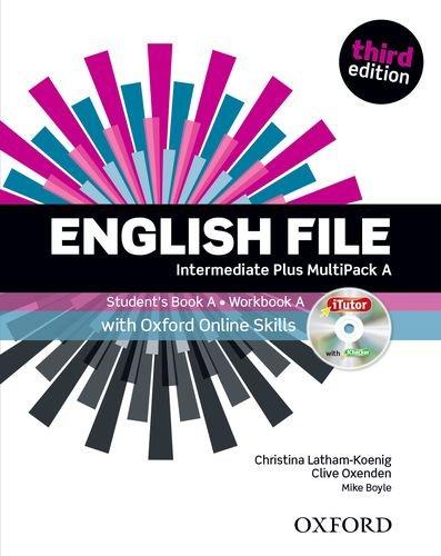 English File third edition: English file digital. Intermediate. Part A. Student's book-Workbook-iTutor. Per le Scuole superiori. Con espansione online