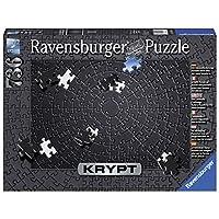 Ravensburger-Erwachsenenpuzzle-15260-Ravensburger-15260-Krypt-Black-Erwachsenenpuzzle
