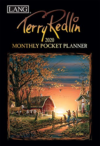 LANG Terry Redlin 2020 Monthly Pocket Planner (20991003183)