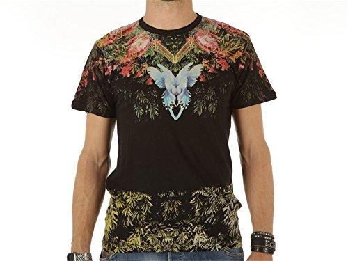 ELEVEN PARIS - - Uomo - Tshirt Shoulder Print Flebir Noir pour homme -
