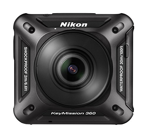 Nikon KeyMission 360 - Compact Action Camera per foto e video a 360°