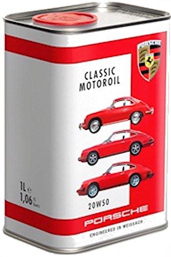 1 Liter - Porsche Oldtimer Klassik-Motoröl 20W-50 für 914, 356 und frühe 911 bis zum 2,7 Liter G-Modell - Porsche Classic Motor oil 20W-50 -- Worldwide Shipping