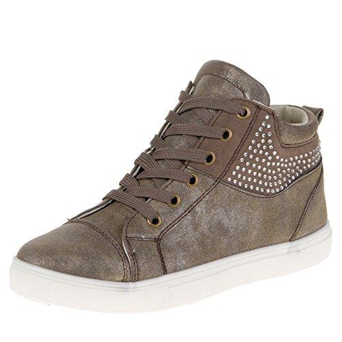 isotoner-27118-tempo-libero-scarpe-marrone-braun-grau-36-eu