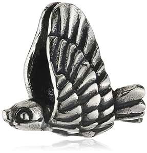 Trollbeads Damen-Bead 925 Sterling Silber Ohne TAGBE-10034
