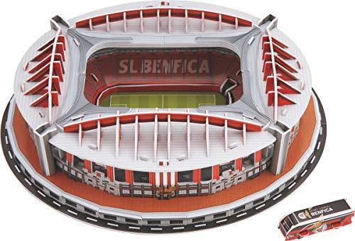 Benfica-Stadion (Spanien)3D Puzzle, JTIH® Bunt