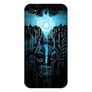 EYP Superheroes Batman Dark knight Back Cover Case for Apple iPhone 4