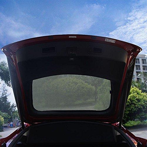 Preisvergleich Produktbild Topfit Heckklappe Mesh Sonnenschirm für Tesla Modell S