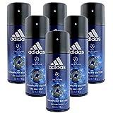 6* Adidas Deospray Deo Bodyspray 150ml Champions League...