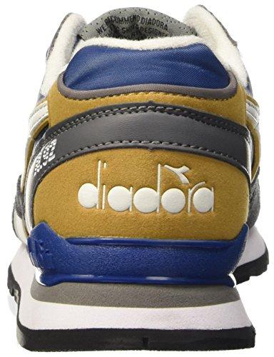 Diadora N-92 Wnt, Scarpe Low-Top Uomo Blu (Blu Estate/Beige Farro)