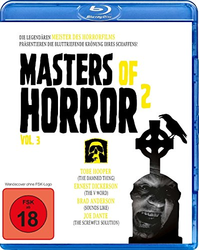 Masters of Horror Vol. 2 - Vol. 3 (Hooper/Dickerson/Anderson/Dante) [Blu-ray]