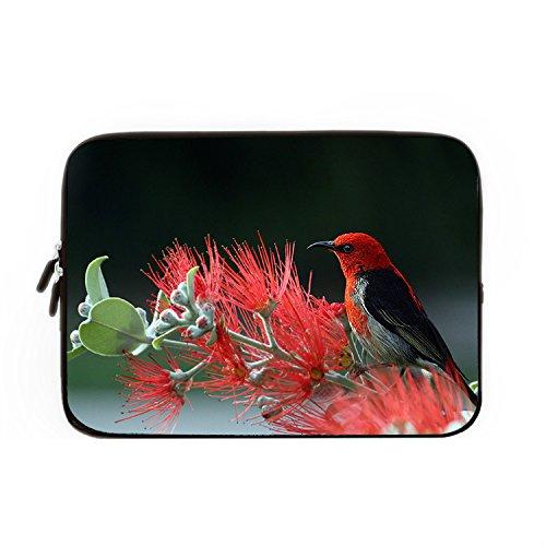 chadme-laptop-sleeve-borsa-scarlet-honeyeater-uccello-arte-notebook-sleeve-casi-con-cerniera-per-mac