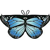 HEETEY Mädchenmantel Kind Kinder Jungen Mädchen Böhmischer Schmetterling Print Schal Pashmina Kostüm Zubehör ET Butterfly Schal