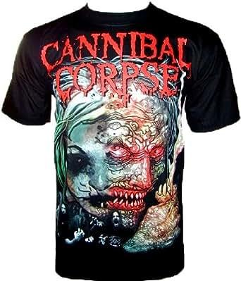 CANNIBAL CORPSE T-SHIRT Fanshirt Schwarz Black Gr M