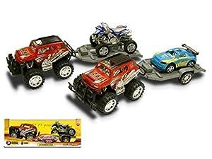 Reel Toys Reeltoys0592 - Modelo de vehículo Friction with Towing
