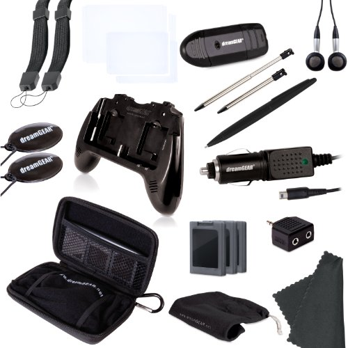 dreamGEAR  20-in-1 Essentials Kit for 3DS, (20 In 1 Kit)