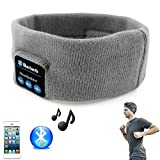 Mondpalast ® Grau Stirnband Stereo Headset Sportstirnband Musikstirnband Wireless mit Bluetooth Stereo Kopfhörer Headset Kompatibel mit Smartphone Iphone 7 7 PLUS IPHONE 6 Plus 6s Plus 6 6S 5 5S 4 4S 3G 3GS Samsung Galaxy S8 S8 Plus S7 S6 S6 Edge Edge+ S5 S4 S4 Active S4 Mini S3 S3 Mini S2 Note 4 Ipod Touch 3 4 5 HTC ONE X ONE S Z520E LG G2 G3 G4 Nexus 4 Nexus 6 P760 Nokia Lumia 920 820 Sony Z1 Z2 Z3 C4 C5 M4 M5 Huawei P8 Mate S Ipad Mini 1 2 3 4 Ipad Air Ipad Pro Tablet