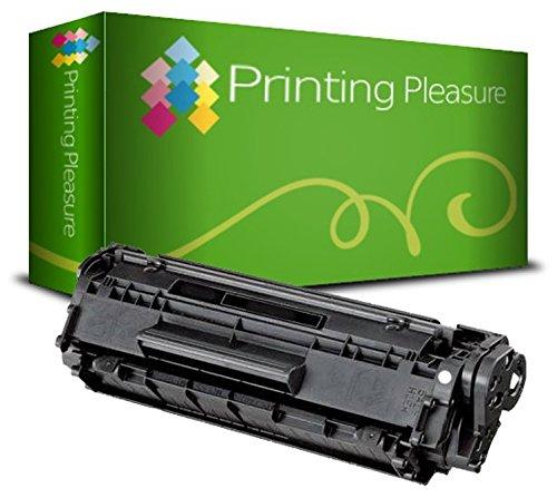 PRINTING PLEASURE Toner kompatibel für HP Laserjet 1100 / 3200 / CANON LBP-1110 / LBP-1120 / LBP-250 / LBP-350 / LBP-200 / LBP-800 / LBP-810 / LBP-5585 / LBP-P420 Serie - Patrone Hp Drucker 92