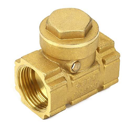 Remplacement unidirectionnel automatique de valve d'oscillation du clapet anti-retour en laiton DN20 pour les médias acides d'huile aqueuse
