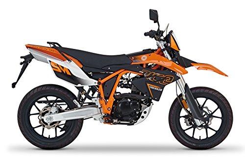 Kreidler SUPERMOTO 125 Motorrad | DICE SM 125i Pro orange | 8,4 KW 125 ccm 101 km/h 4-Takt