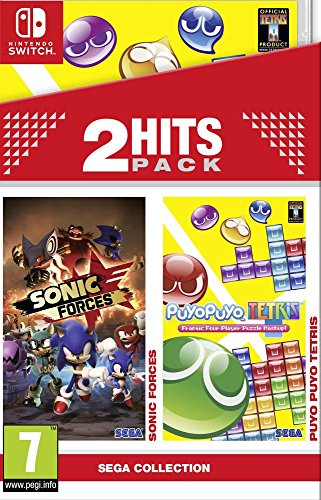 2 Hits Pack Nintendo Switch – Sonic Forces – Puyo Puyo Tetris