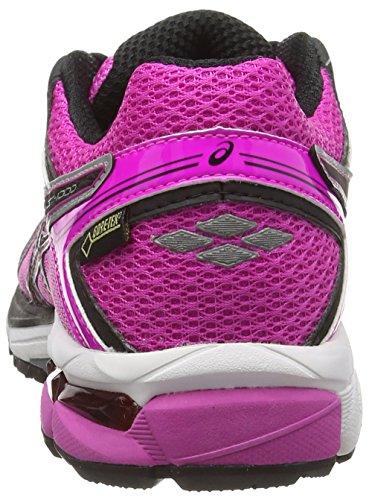 ASICS - Gt-1000 4 G-Tx, Scarpe Da Corsa da donna Rosa (Pink Glow/Onyx/Royal Burgundy 3599)