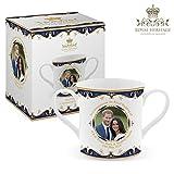 Royal Heritage s.k.h Harry und Megan markle Hochzeit GEDENKMÜNZE Loving Tasse, feines Porzellan, Mehrfarbig, 14x 8,5x 8cm