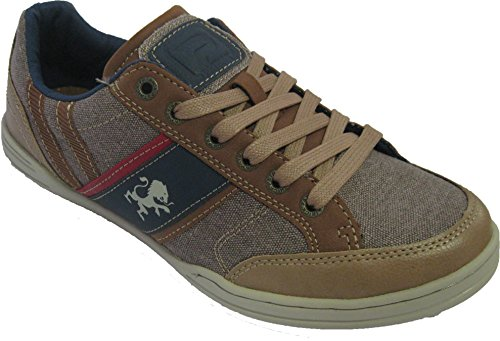 Baskets basses mode pour hommes Taupe