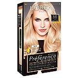 3 x L'Oreal Paris Recital Preference Permanent Colour 9.13 Bergen Light Beige Blonde
