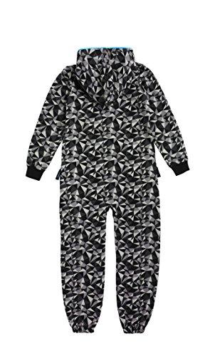 Onepiece Mädchen Bekleidungsset Jumpsuit Kids Prismatic, Schwarz, X-Small (Herstellergröße: 146) - 2