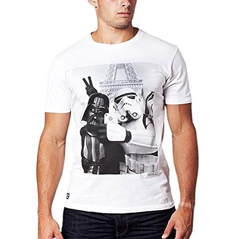 Chunk Clothing Star Wars Trooper Selfie T Shirt (Weiß) -